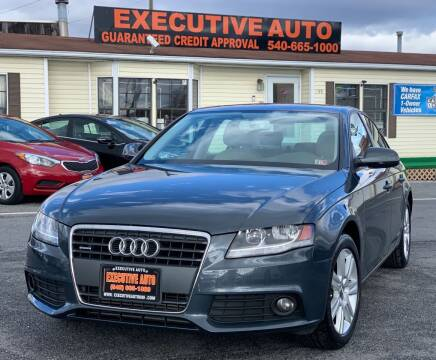 2010 Audi A4 for sale at Executive Auto in Winchester VA