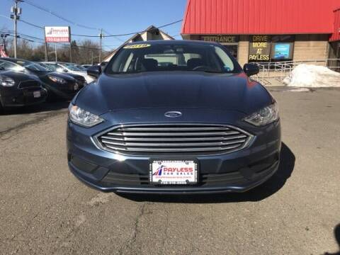 2018 Ford Fusion for sale at PAYLESS CAR SALES of South Amboy in South Amboy NJ