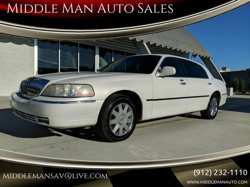 2003 Lincoln Town Car for sale at Middle Man Auto Sales in Savannah GA