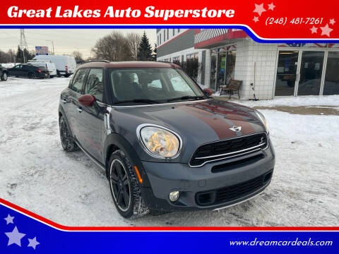 2016 MINI Countryman for sale at Great Lakes Auto Superstore in Pontiac MI