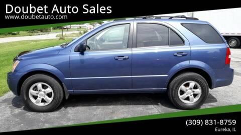 2007 Kia Sorento for sale at Doubet Auto Sales in Eureka IL