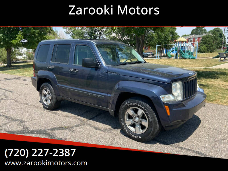 2008 Jeep Liberty for sale at Zarooki Motors in Englewood CO
