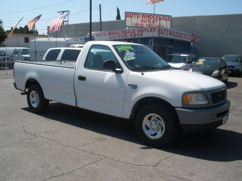 1998 Ford F-150 for sale at AUTO WHOLESALE OUTLET in North Hollywood CA