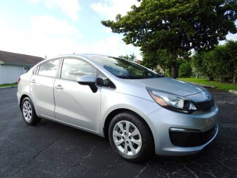 2016 Kia Rio for sale at SUPER DEAL MOTORS 441 in Hollywood FL