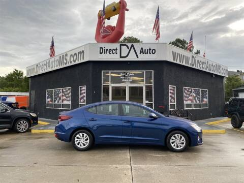 2019 Hyundai Elantra for sale at Direct Auto in D'Iberville MS