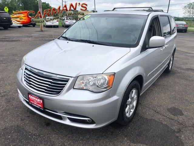 2012 Chrysler Town and Country for sale at Carmans Used Cars & Trucks in Jackson OH