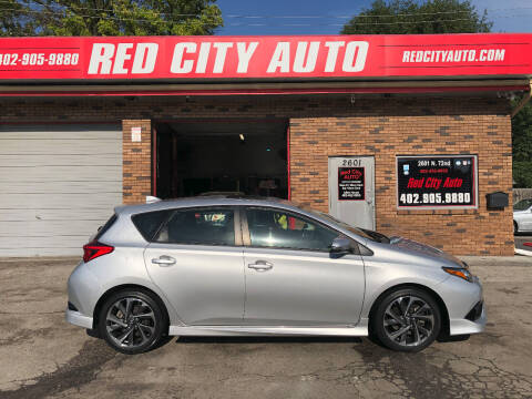 2016 Scion iM for sale at Red City  Auto in Omaha NE