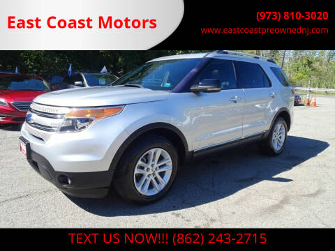 2011 Ford Explorer for sale at East Coast Motors in Lake Hopatcong NJ