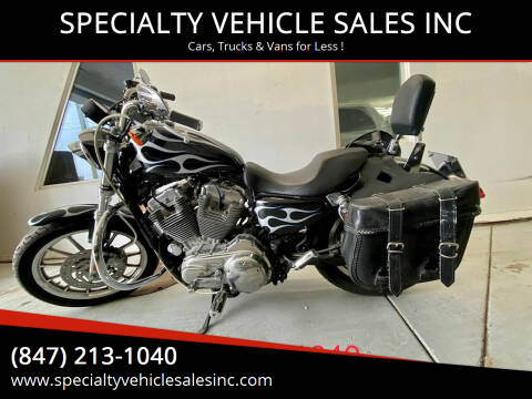 2007 HARLEY DAVIDSON SPORTSTER  XL883L for sale at SPECIALTY VEHICLE SALES INC in Skokie IL