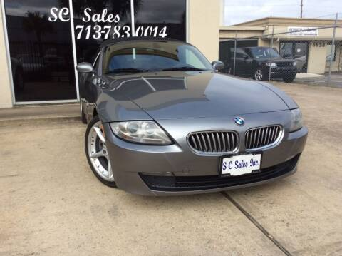 2008 BMW Z4 for sale at SC SALES INC in Houston TX