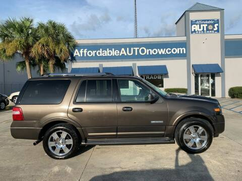 2008 Ford Expedition for sale at Affordable Autos in Houma LA