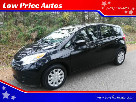 2015 Nissan Versa Note for sale at Low Price Autos in Beaumont TX