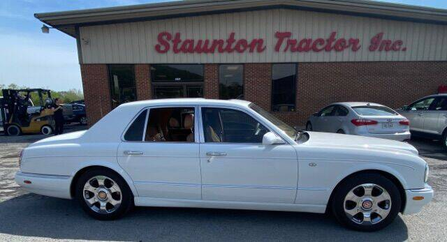 2001 Bentley Arnage for sale at STAUNTON TRACTOR INC in Staunton VA