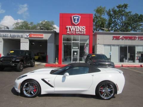 2016 Chevrolet Corvette for sale at Twins Auto Sales Inc in Detroit MI