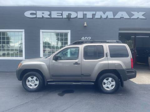 2006 Nissan Xterra for sale at Creditmax Auto Sales in Suffolk VA