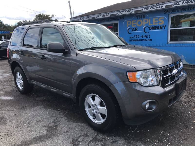 2012 Ford Escape for sale at The Peoples Car Company in Jacksonville FL