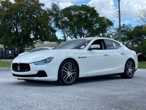 2014 Maserati Ghibli for sale at Auto Direct of South Broward in Miramar FL