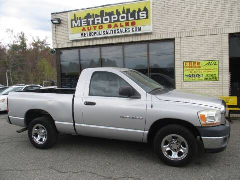2006 Dodge Ram Pickup 1500 for sale at Metropolis Auto Sales in Pelham NH