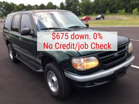 1998 Ford Explorer for sale at D & J AUTO EXCHANGE in Columbus IN