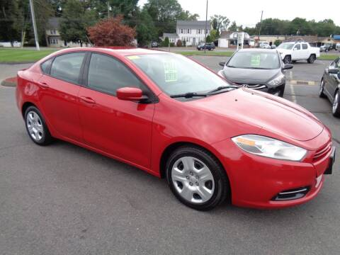 2013 Dodge Dart for sale at BETTER BUYS AUTO INC in East Windsor CT
