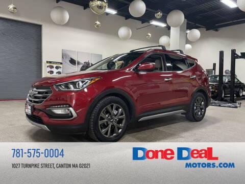 2017 Hyundai Santa Fe Sport for sale at DONE DEAL MOTORS in Canton MA