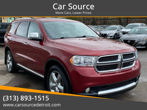 2013 Dodge Durango for sale at Car Source in Detroit MI