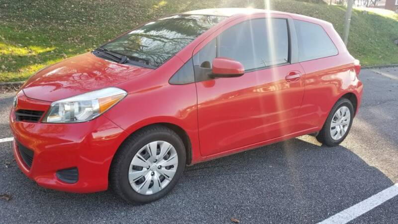 2014 Toyota Yaris for sale at Thompson Auto Sales Inc in Knoxville TN