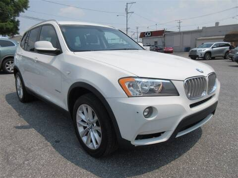 2014 BMW X3 for sale at Cam Automotive LLC in Lancaster PA