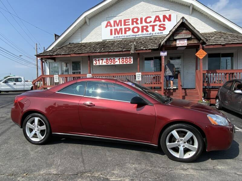 2009 Pontiac G6 for sale at American Imports INC in Indianapolis IN