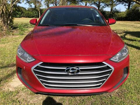 2017 Hyundai Elantra for sale at Greenville Motor Company in Greenville NC