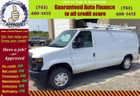 2013 Ford E-Series Cargo for sale at Capital Fleet  & Remarketing  Auto Finance in Columbia Heights MN