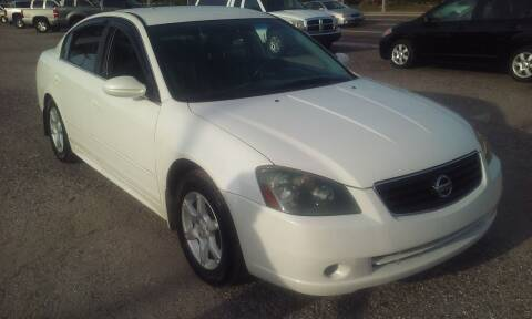 2006 Nissan Altima for sale at Pinellas Auto Brokers in Saint Petersburg FL
