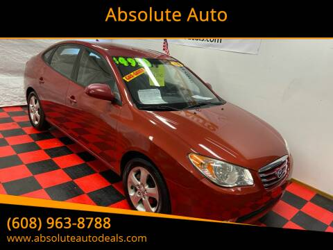 2010 Hyundai Elantra for sale at Absolute Auto in Baraboo WI