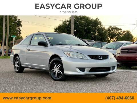 2005 Honda Civic for sale at EASYCAR GROUP in Orlando FL