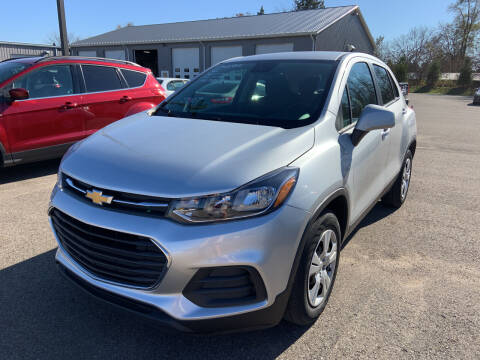 2017 Chevrolet Trax for sale at Blake Hollenbeck Auto Sales in Greenville MI