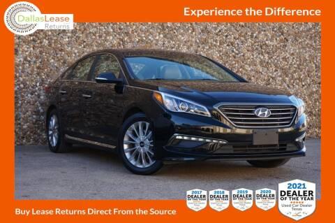 2015 Hyundai Sonata for sale at Dallas Auto Finance in Dallas TX