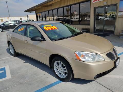 2006 Pontiac G6 for sale at California Motors in Lodi CA