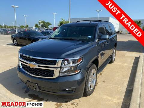 2020 Chevrolet Tahoe for sale at Meador Dodge Chrysler Jeep RAM in Fort Worth TX