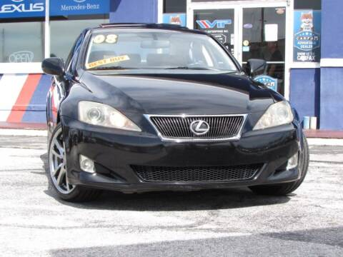 2008 Lexus IS 350 for sale at VIP AUTO ENTERPRISE INC. in Orlando FL