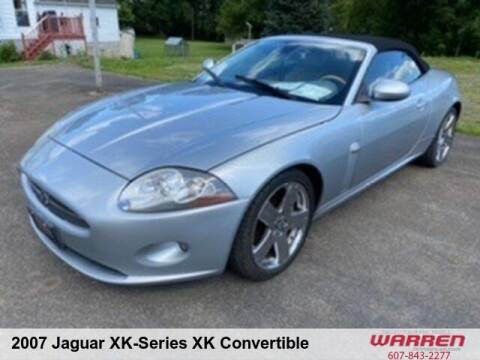 2007 Jaguar XK-Series for sale at Warren Auto Sales in Oxford NY