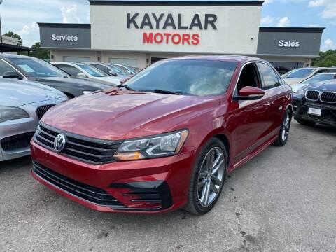 2016 Volkswagen Passat for sale at KAYALAR MOTORS in Houston TX