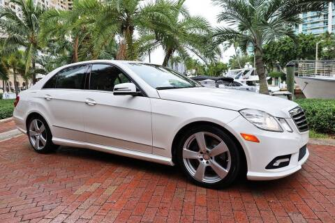 2011 Mercedes-Benz E-Class for sale at Choice Auto in Fort Lauderdale FL