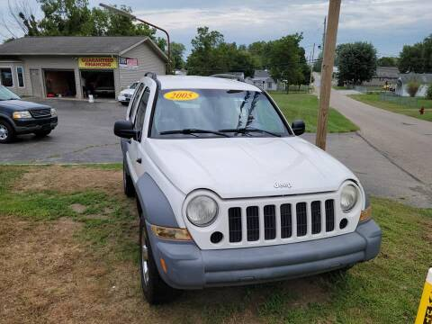 2005 Jeep Liberty for sale at EZ Drive AutoMart in Springfield OH