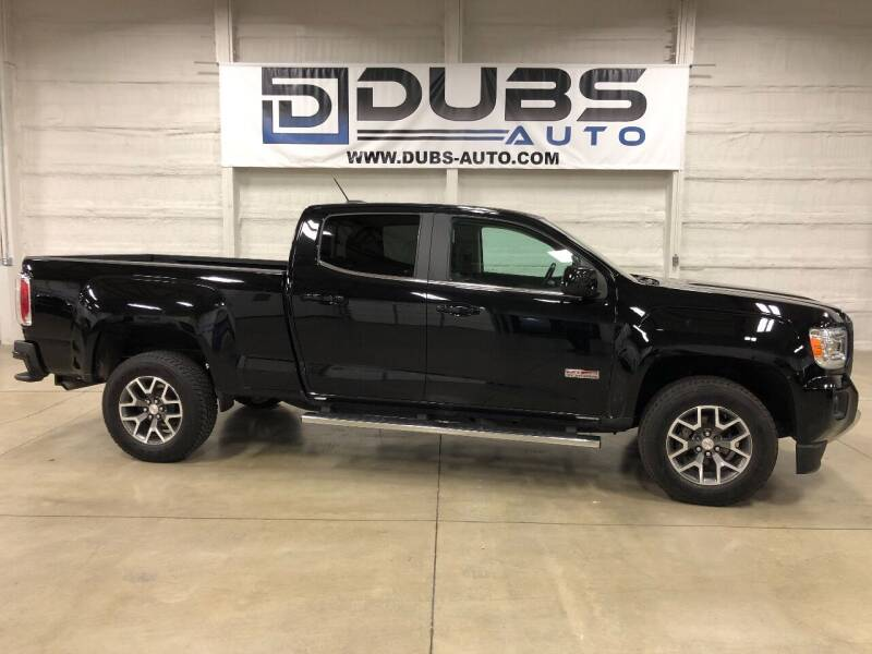 2017 GMC Canyon for sale at DUBS AUTO LLC in Clearfield UT