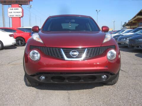 2014 Nissan JUKE for sale at T & D Motor Company in Bethany OK