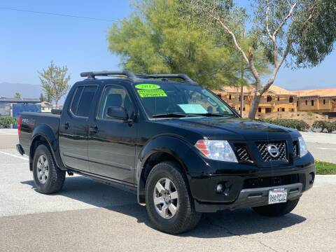 2012 Nissan Frontier for sale at Esquivel Auto Depot in Rialto CA