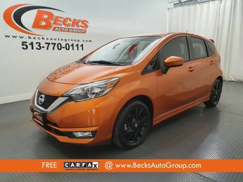 2017 Nissan Versa Note for sale at Becks Auto Group in Mason OH