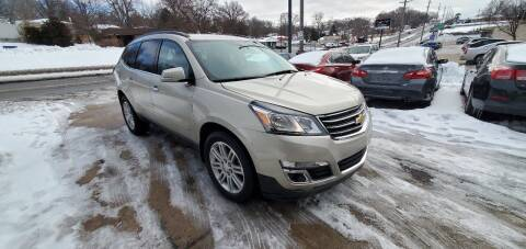 2015 Chevrolet Traverse for sale at Divine Auto Sales LLC in Omaha NE