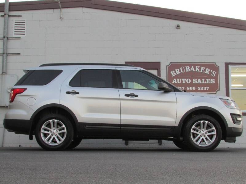 2016 Ford Explorer for sale at Brubakers Auto Sales in Myerstown PA