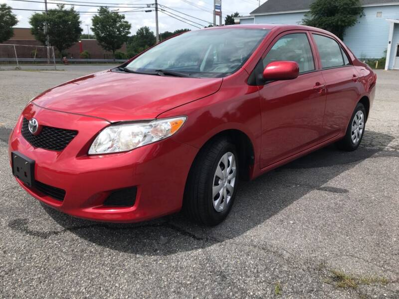 2010 Toyota Corolla for sale at D'Ambroise Auto Sales in Lowell MA